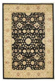 Farahan Ziegler - Schwarz Teppich  160X230 Orientalischer Schwartz/Beige ( Türkei)