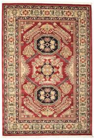 Kazak Mirvan Teppich  160X230 Orientalischer Dunkelrot/Rost/Rot ( Türkei)