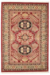Kazak Mirvan Teppich  140X200 Orientalischer Dunkelrot/Dunkelbraun ( Türkei)