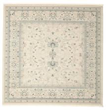 Ziegler Michigan - Grün/Beige Teppich  300X300 Orientalischer Quadratisch Hellgrau/Beige Großer ( Türkei)