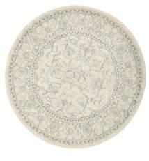 Ziegler Manhattan Teppich  Ø 150 Orientalischer Rund Hellgrau/Beige/Dunkel Beige ( Türkei)