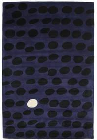Camouflage Handtufted - Dunkel Teppich  200X300 Moderner Schwartz/Dunkelblau (Wolle, Indien)