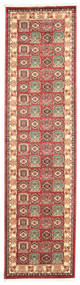 Kazak Simav Teppich  80X300 Orientalischer Läufer Dunkelrot/Rost/Rot ( Türkei)