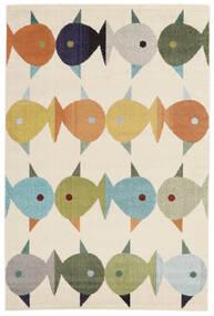 Fugl Og Fisk Teppich  160X230 Moderner Beige ( Türkei)