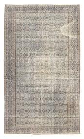 Colored Vintage Teppich  151X256 Echter Moderner Handgeknüpfter Hellgrau (Wolle, Türkei)