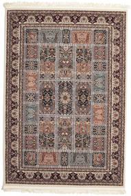 Nova Bachtiar Teppich  160X230 Orientalischer Hellgrau/Dunkelbraun ( Türkei)
