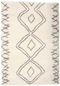 Berber Shaggy Massin Teppich  160X230 Moderner Beige/Hellgrau ( Türkei)