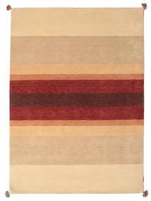 Loribaf Loom Teppich 173X241 Echter Moderner Handgeknüpfter Dunkel Beige/Hellbraun/Dunkelrot (Wolle, Indien)