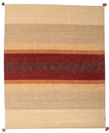 Loribaf Loom Teppich 172X241 Echter Moderner Handgeknüpfter Dunkel Beige/Dunkelrot (Wolle, Indien)
