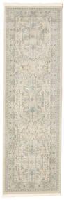 Ziegler Manhattan Teppich  80X250 Orientalischer Läufer Hellgrau/Dunkel Beige ( Türkei)