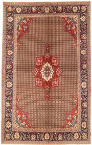Koliai Teppich  198X323 Echter Orientalischer Handgeknüpfter Dunkelbraun/Dunkelrot (Wolle, Persien/Iran)