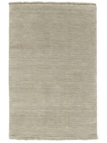 Handloom Fringes - Grau/Hellgrün Teppich  160X230 Moderner Hellbraun/Hellgrau (Wolle, Indien)
