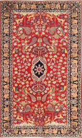 Najafabad Patina Figurativ Teppich 188X320 Echter Orientalischer Handgeknüpfter Rost/Rot/Dunkelrot (Wolle, Persien/Iran)