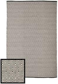 Diamond - Schwarz/Weiß Teppich  250X300 Echter Moderner Handgewebter Hellgrau/Dunkelgrau Großer (Baumwolle, Indien)