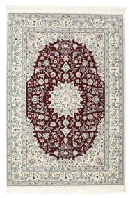 Nain Emilia - Dunkelrot Teppich  160X230 Orientalischer Hellgrau/Beige ( Türkei)