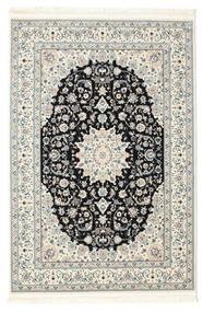 Nain Emilia - Dunkelblau Teppich  160X230 Orientalischer Hellgrau/Beige ( Türkei)