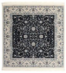 Nain Florentine - Dunkelblau Teppich  200X200 Orientalischer Quadratisch Dunkelgrau/Beige ( Türkei)