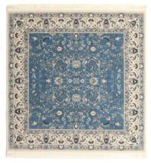 Nain Florentine - Hellblau Teppich  200X200 Orientalischer Quadratisch Beige/Blau/Hellgrau ( Türkei)
