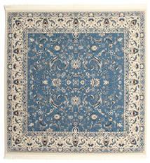 Nain Florentine - Hellblau Teppich  250X250 Orientalischer Quadratisch Blau/Hellgrau/Beige Großer ( Türkei)