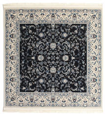 Nain Florentine - Dunkelblau Teppich  250X250 Orientalischer Quadratisch Dunkelgrau/Beige Großer ( Türkei)