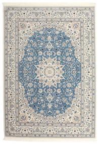 Nain Emilia - Hellblau Teppich  250X350 Orientalischer Hellgrau/Beige Großer ( Türkei)