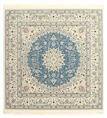 Nain Emilia - Hellblau Teppich  250X250 Orientalischer Quadratisch Beige/Hellgrau Großer ( Türkei)
