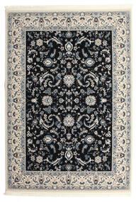 Nain Florentine - Dunkelblau Teppich  250X350 Orientalischer Schwartz/Hellgrau Großer ( Türkei)