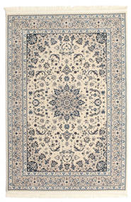 Nain Emilia - Beige/Blau Teppich  140X200 Orientalischer Hellgrau/Beige ( Türkei)