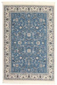 Nain Florentine - Hellblau Teppich  140X200 Orientalischer Hellgrau/Beige/Dunkelblau ( Türkei)