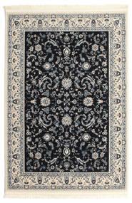Nain Florentine - Dunkelblau Teppich  140X200 Orientalischer Hellgrau/Beige/Schwartz ( Türkei)