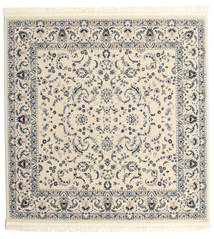 Nain Florentine - Cream Teppich  200X200 Orientalischer Quadratisch Hellgrau/Beige ( Türkei)