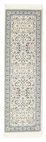 Nain Florentine - Cream Teppich  80X250 Orientalischer Läufer Hellgrau/Beige ( Türkei)