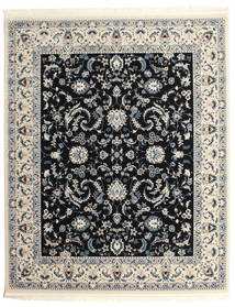 Nain Florentine - Dunkelblau Teppich  250X300 Orientalischer Hellgrau/Schwartz Großer ( Türkei)