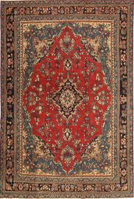 Hamadan Patina Teppich 210X312 Echter Orientalischer Handgeknüpfter Dunkelgrau/Dunkelbraun (Wolle, Persien/Iran)