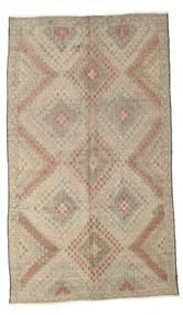 Kelim Halbantik Türkei Teppich  173X294 Echter Orientalischer Handgewebter Hellgrau/Hellbraun (Wolle, Türkei)