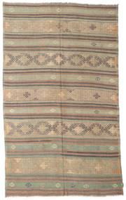 Kelim Halbantik Türkei Teppich  186X301 Echter Orientalischer Handgewebter Hellbraun/Hellgrau (Wolle, Türkei)