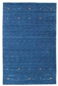 Gabbeh Loom Two Lines - Blau Teppich  190X290 Moderner Dunkelblau/Blau (Wolle, Indien)