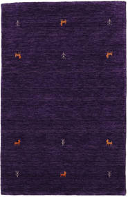 Gabbeh Loom Two Lines - Lila Teppich  100X160 Moderner Dunkellila (Wolle, Indien)