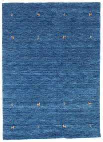 Gabbeh Loom Two Lines - Blau Teppich  160X230 Moderner Dunkelblau/Blau (Wolle, Indien)