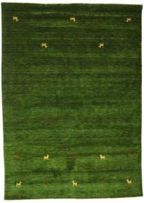 Gabbeh Loom Two Lines - Grün Teppich  160X230 Moderner Dunkelgrün (Wolle, Indien)