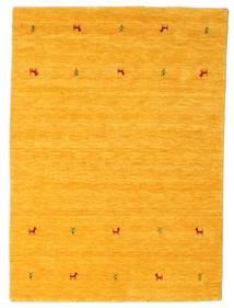 Gabbeh Loom Two Lines - Gelb Teppich  140X200 Moderner Gelb/Orange (Wolle, Indien)