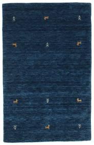 Gabbeh Loom Two Lines - Dunkelblau Teppich  100X160 Moderner Dunkelblau (Wolle, Indien)
