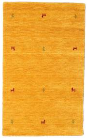 Gabbeh Loom Two Lines - Gelb Teppich  100X160 Moderner Orange (Wolle, Indien)