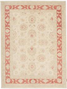 Ziegler Teppich 155X210 Echter Orientalischer Handgeknüpfter Beige/Hellrosa (Wolle, Pakistan)
