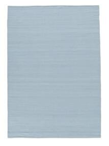 Kelim Loom - Hellblau Teppich  160X230 Echter Moderner Handgewebter Hellblau (Wolle, Indien)