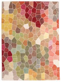 Play Of Colours Teppich  140X200 Moderner Dunkel Beige/Dunkelbraun ( Türkei)