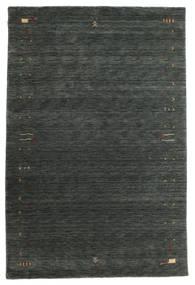 Gabbeh Loom Frame - Dunkelgrau/Grün Teppich  190X290 Moderner Dunkelgrün (Wolle, Indien)