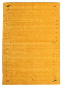 Gabbeh Loom Frame - Gelb Teppich 190X290 Moderner Gelb/Orange (Wolle, Indien)