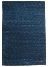 Gabbeh Loom Frame - Dunkelblau Teppich  190X290 Moderner Dunkelblau (Wolle, Indien)