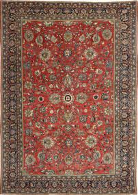 Sarough Patina Teppich 236X347 Echter Orientalischer Handgeknüpfter Dunkelrot/Dunkelgrau (Wolle, Persien/Iran)